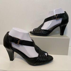 Air Supply Dress Comfort Nana Open Toe Heels